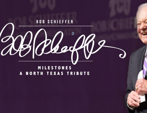 NEWS: CBS Newsman Bob Shieffer Honored In Dallas