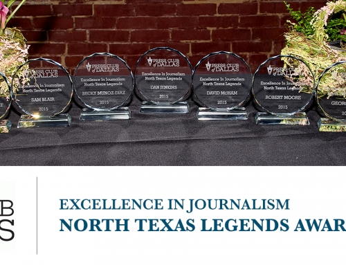 NEWS: North Texas Legends in Journalism to be Honored on June 9th