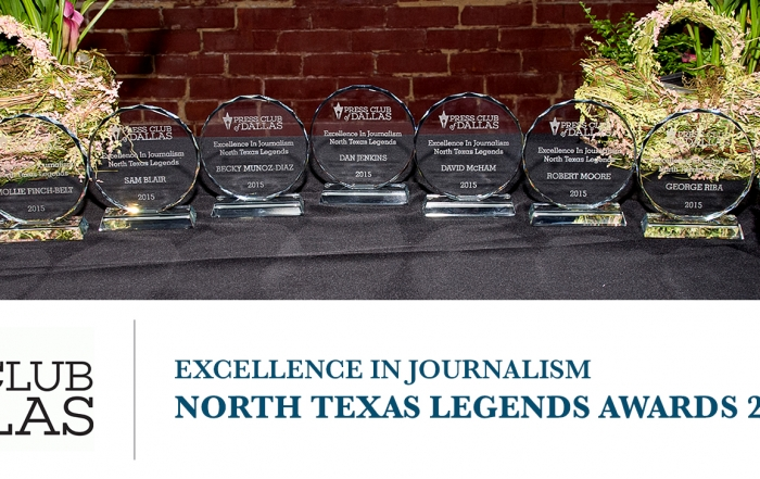 Excellence in Journalism North Texas Legends Awards 2016