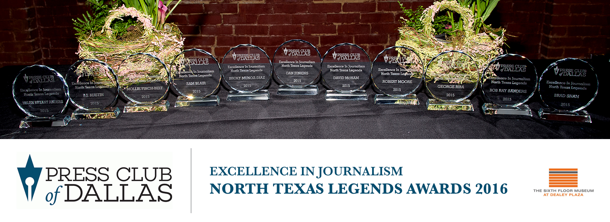 North Texas Legends Awards 2016
